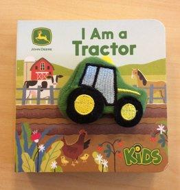 Cottage Door Press I Am a Tractor John Deere Chunky finger Puppet Book