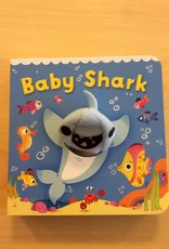 Cottage Door Press Baby Shark Chunky finger Puppet Book