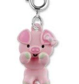 Charm It Swivel Pig Charm