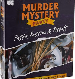 University Games Murder Mystery Party : Pasta, Passion & Pistols