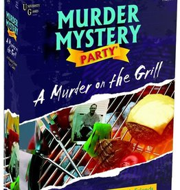 University Games Murder Mystery Party : A Murder on the Grill