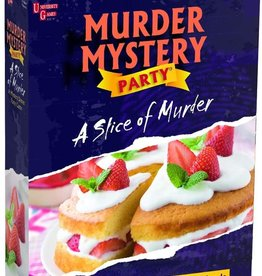 University Games Murder Mystery Party : A Slice of Murder