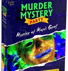 University Games Mystery Murder Party : Murder at Mardi Gras