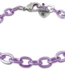 Charm It Charm it! Purple Chain Bracelet