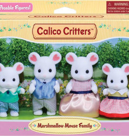 Calico Critters: Marshmallow Mouse Family