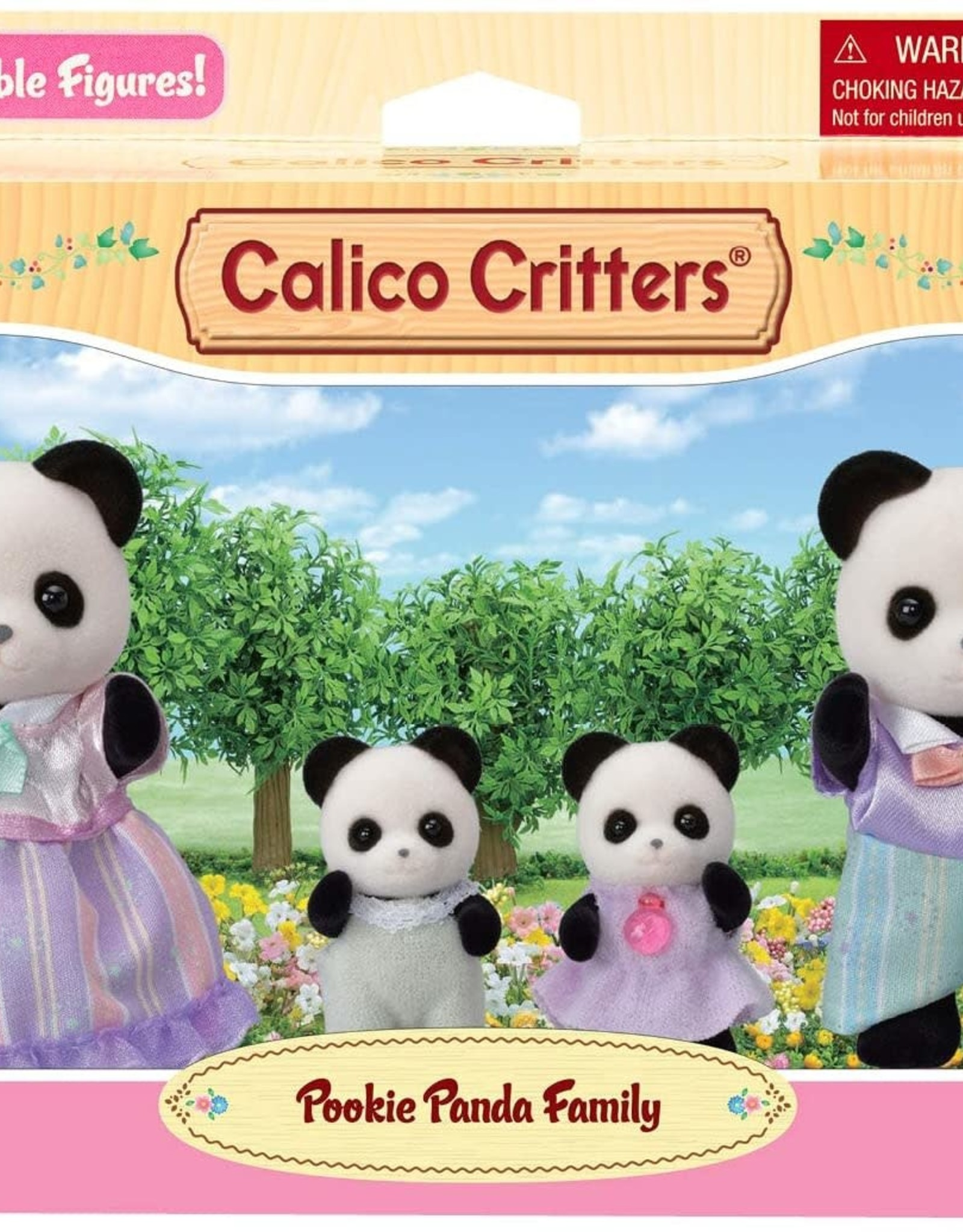 Calico Critters: Pookie Panda Family