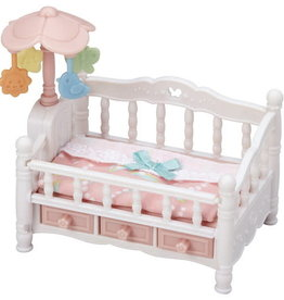 Calico Critters: Crib With Mobile