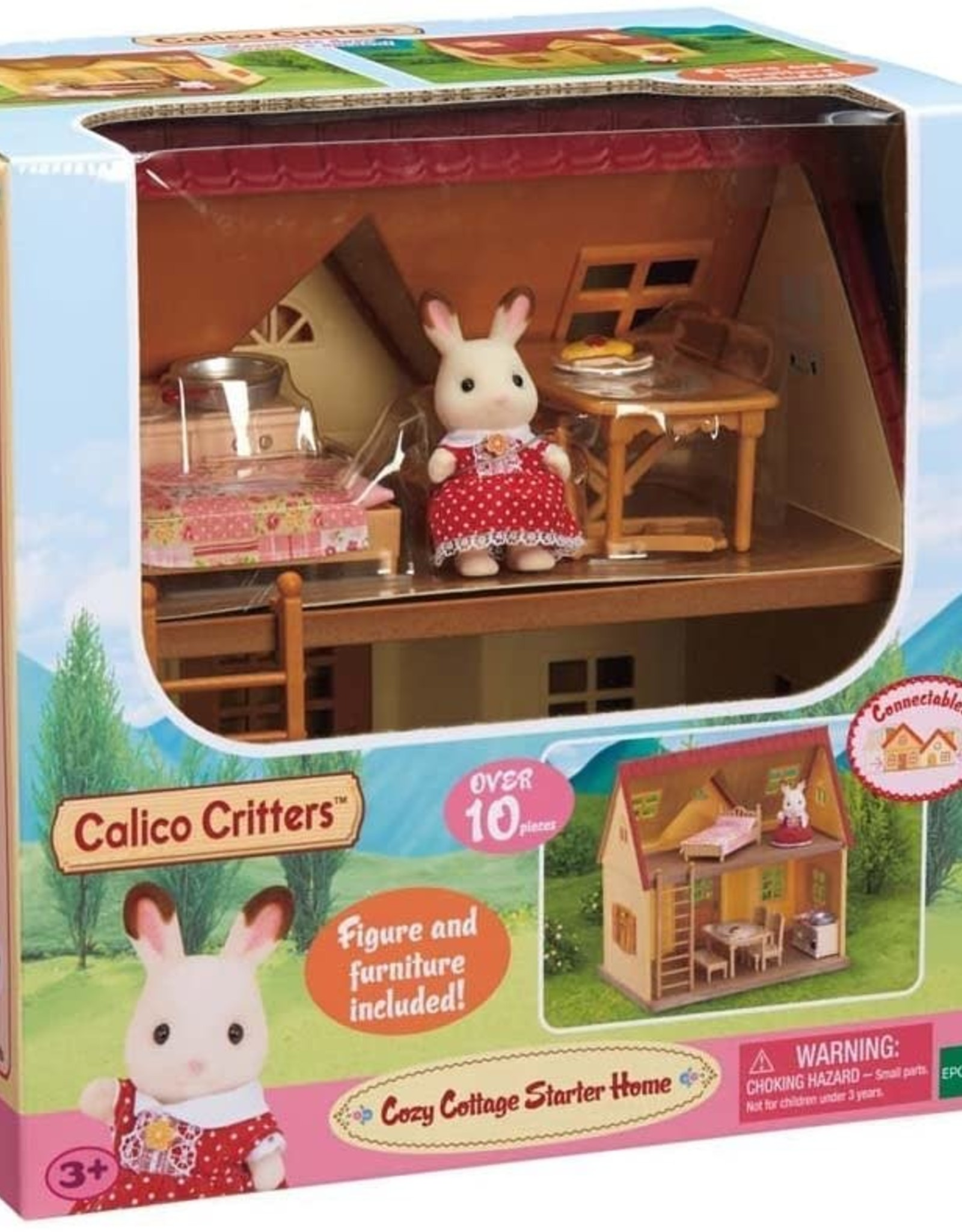 Calico Critters: Red Roof Cozy Cottage Starter Home