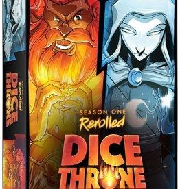 Roxley Dice Throne: Season 1 Re-Rolled Barbarian VS Moon Elf