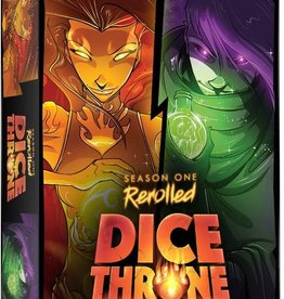 Roxley Dice Throne: Season 1 Re-Rolled Pyromancer VS Shadow Thief