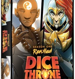 Roxley Dice Throne: Season 1 Re-Rolled Monk VS Paladin