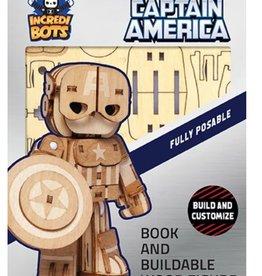 Incredibuilds Incredibots: Captain America