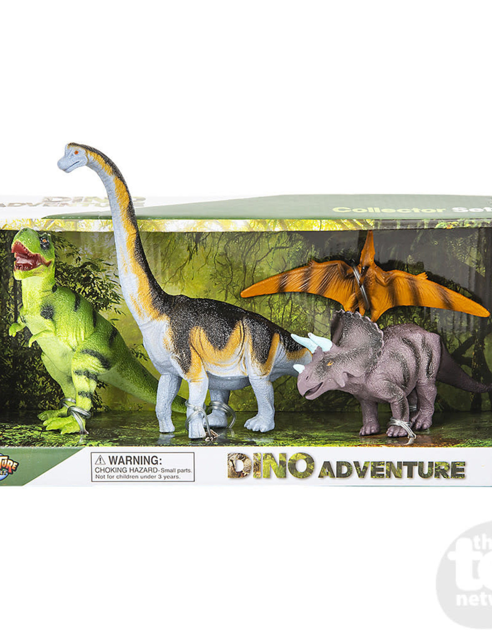 Adventure Planet 4 Piece Dinosaur Replica Set