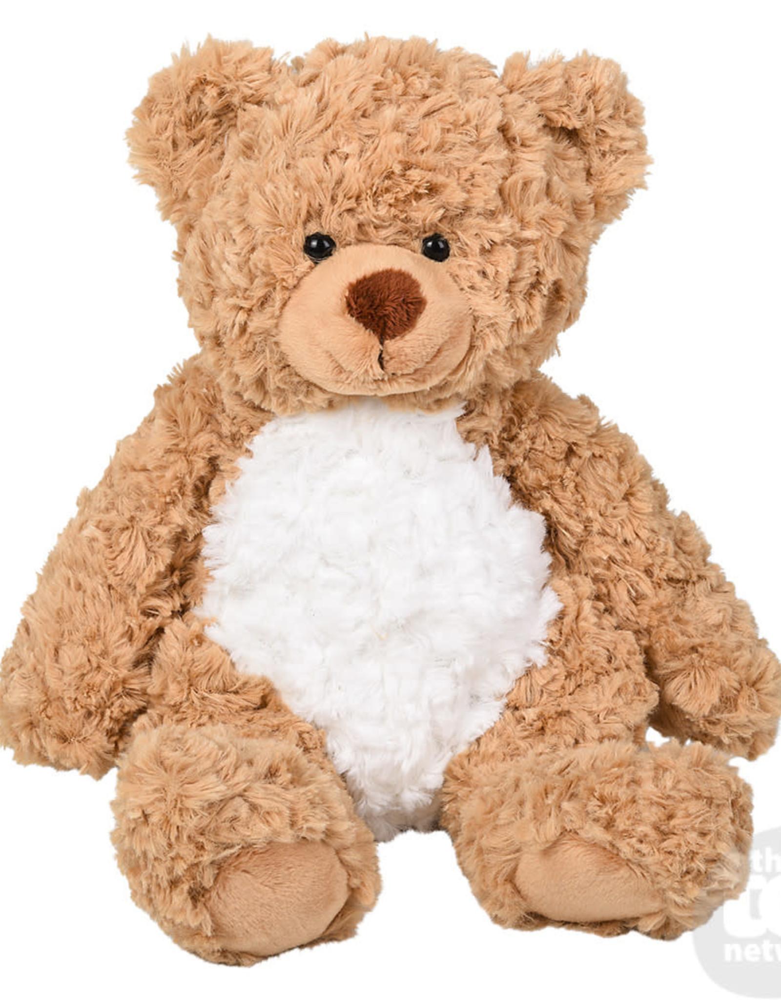 "The Toy Network 8"" Scruffy Buddies Brown Bear"