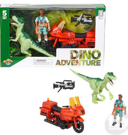 Adventure Planet 5 pc Dinosaur Explorer Set