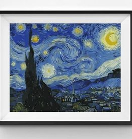 Winnie's Picks Starry Night Paint by Number