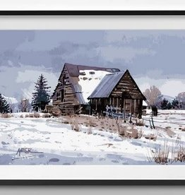 Winnie's Picks Cashe Valley Barn Paint by Number