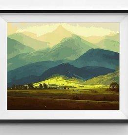 Winnie's Picks Scotland's Highlands Paint by Number