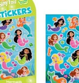 Peaceable Kingdom Mermaids Foil Stickers