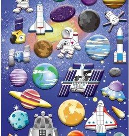bcmini Nekoni Space Puffy Sticker