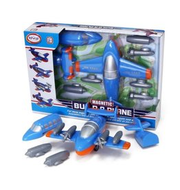 Popular Playthings Magnetic Build-A-Plane