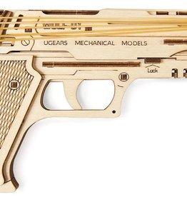 Ugears UGEARS Wolf-01 Model Handgun