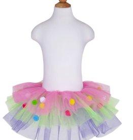 Great Pretenders Pom Pom Skirt, Multi, Size 4-6