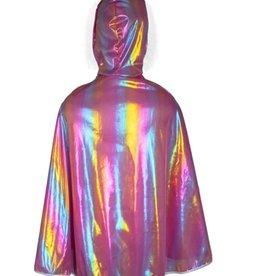 Great Pretenders Rainbow Princess Cape, Size 4-6