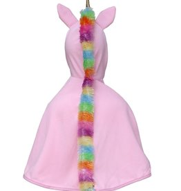 Great Pretenders Unicorn Toddler Cape, Pink, Size 2-3T