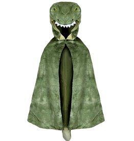 Great Pretenders T-Rex Hooded Cape, Size 4-5