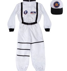 Great Pretenders Astronaut Set Includes Jumpsuit, Hat & ID Badge, Size 5-6