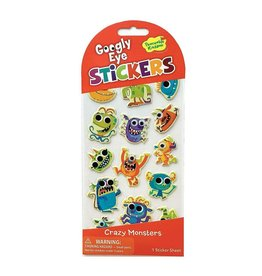 Peaceable Kingdom Crazy Monsters Googly Eye Stickers