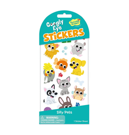 Peaceable Kingdom Silly Pets Googly Eye Stickers
