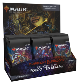 Wizards of the Coast Magic the Gathering: Adventures in the Forgotten Realms: Set Booster Box