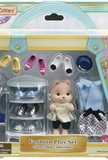Calico Critters: Fashion Playset Shoe Shop Collection