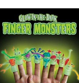 Archie McPhee Glow-in-the-Dark Finger Monsters