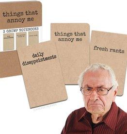 Archie McPhee Grump Notebooks