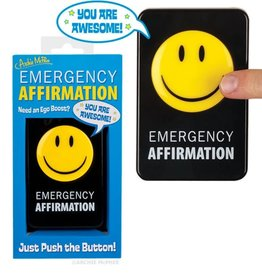 Archie McPhee Emergency Affirmation