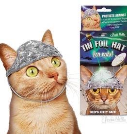 Archie McPhee Tin Foil Hat for Cat