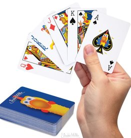 Archie McPhee Rubber Chicken Playing Cards