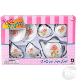 The Toy Network Mini Porcelain Tea Set
