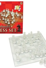 """The Toy Network 10"""" Glass Chess Set"""