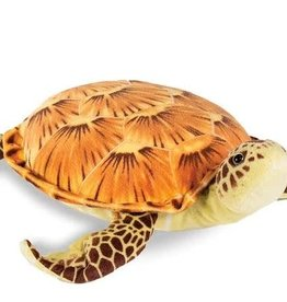 """Real Planet Sea Turtle 13.5"""" - Brown"""