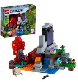 LEGO LEGO Minecraft The Ruined Portal