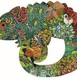 DJECO Chameleon  Puzz'Art Shaped Jigsaw Puzzle 150PC