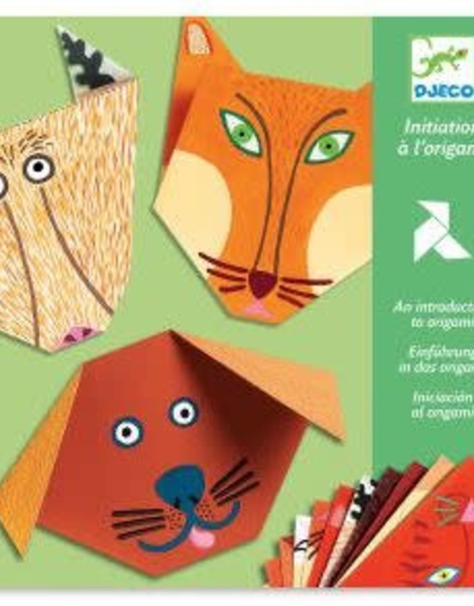 DJECO Animals Origami Paper Craft Kit lvl 1