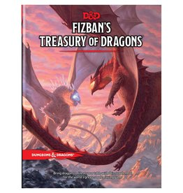Wizards of the Coast D&D 5e: Fizban's Treasury of Dragons (release 10-26-21)