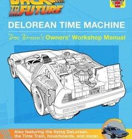 Simon & Schuster DeLorean Time Machine Doc Brown's Owner's Workshop Manual