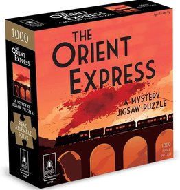 Bepuzzled The Orient Express - Classic Murder Mystery Jigsaw Puzzle
