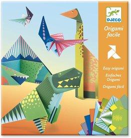 DJECO Dinosaur Origami Paper Craft Kit lvl 2